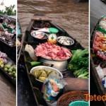 Les marchés flottants de Can Tho