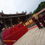 La cérémonie Confucius
