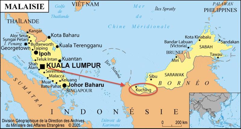 Bornéo Malaisie