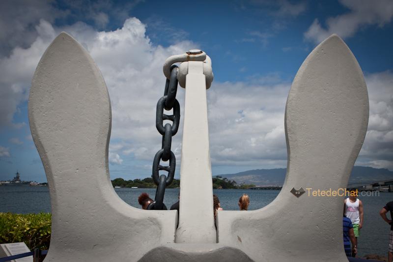 encre_bateau_blanche_pearl_harbour_monument