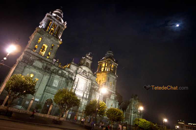 Cathedrale_Metropolitaine_Mexico_nuit_2