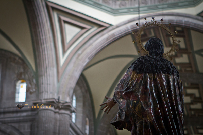 statue_interieur_Cathedrale_Metropolitaine_mexico