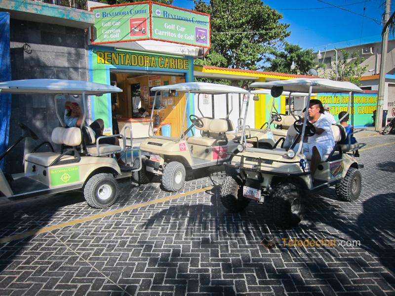 voiture_golf_isla_mujeres