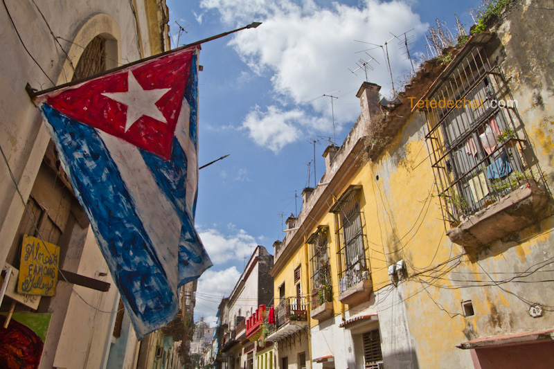 havane_drapeau_cuba