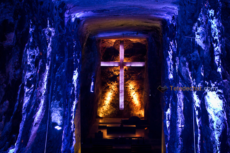 croix_Cathedrale_de_sel_Zipaquira