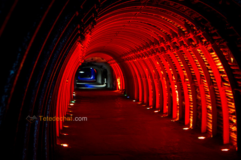 tunnel_entree_Cathedrale_de_sel_Zipaquira