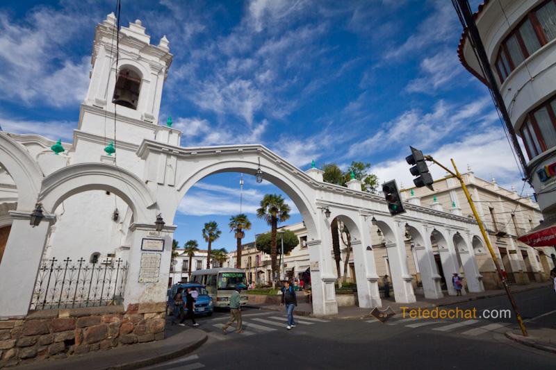 Sucre et les zèbres de Bolivie
