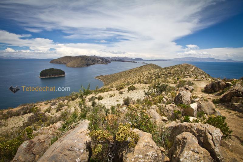 Le lac Titicaca (côté Bolivie)
