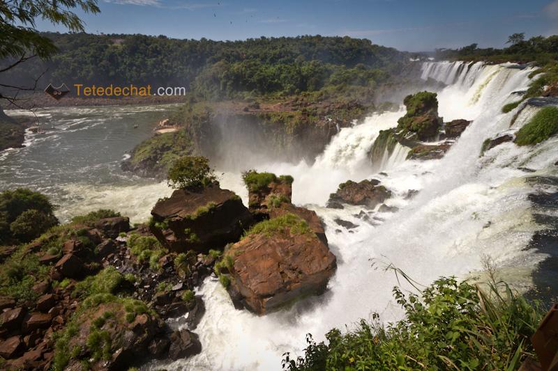 Les chutes d'Iguassu (partie 1)
