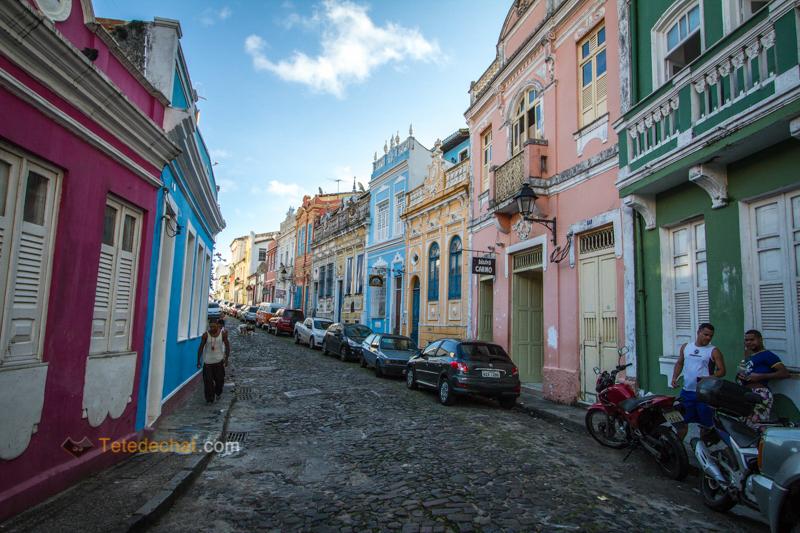 Salvador, églises, couleurs et capoeira