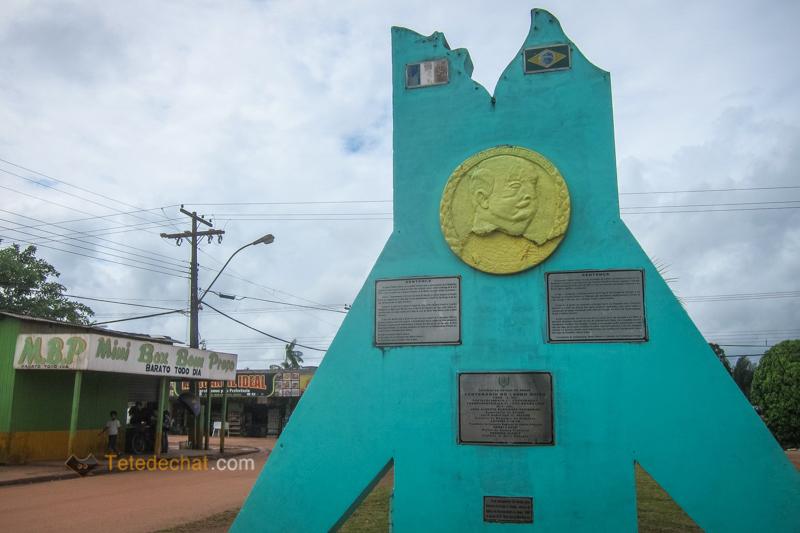 La route de Macapa à Oiapoque