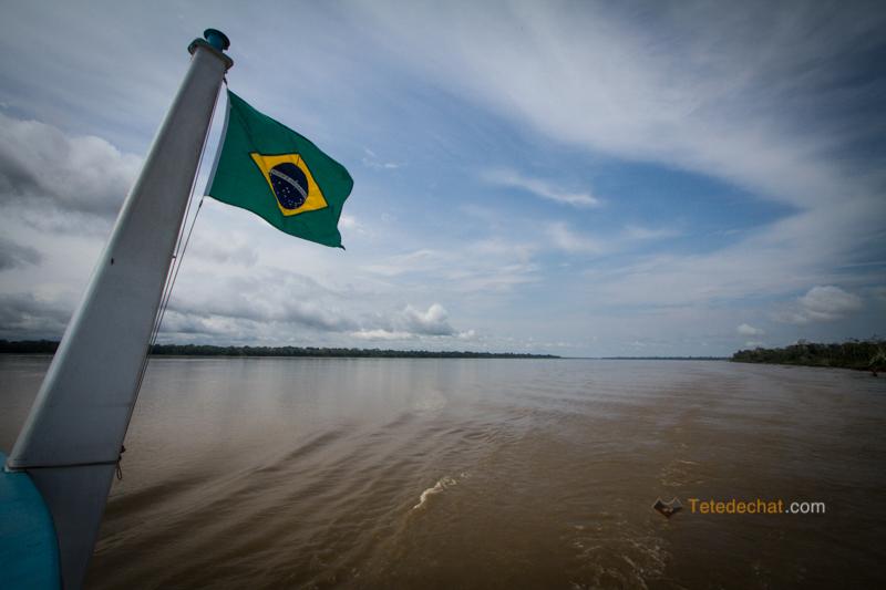 Du Brésil à la Colombie par bateau