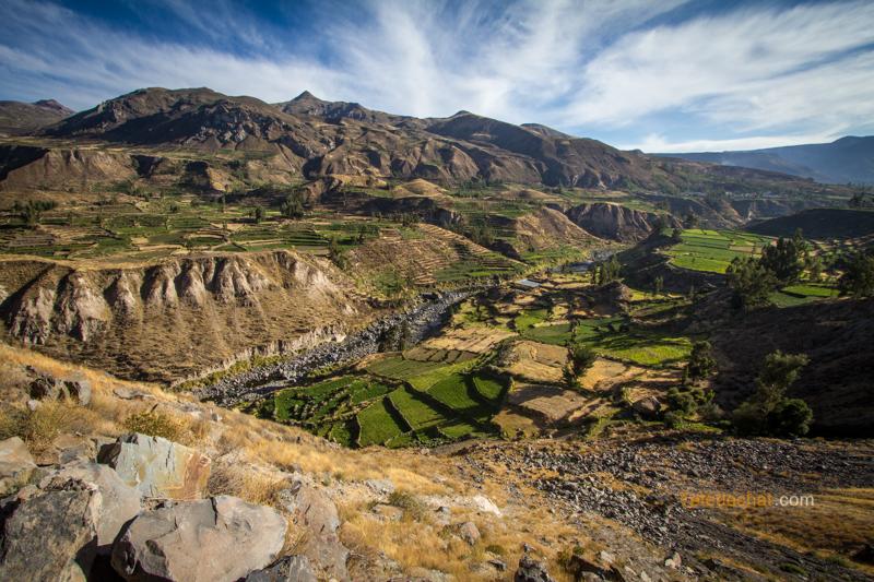 Arequipa, un nouvel an entre canyons et volcans