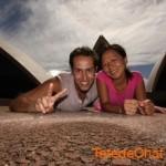 Sydney et la célèbre «coquille d'oeuf»
