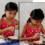 La fille aux bonbons
