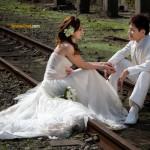 Photos de mariage, avant le mariage.