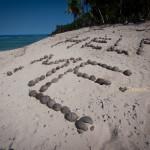 Seul au monde aux Fidji